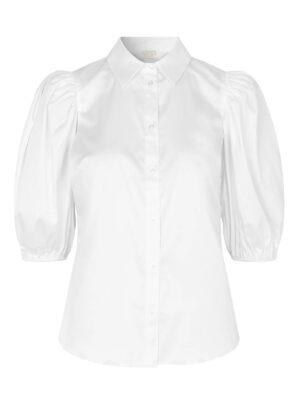 Kira short sleeve shirt white