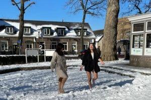 Sneeuwpret in de lentecollectie