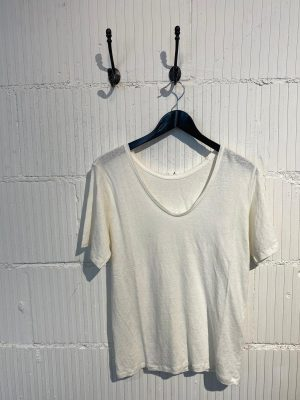 Lily reversible linen tee
