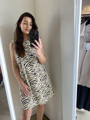 Isha print jurk Modstrom