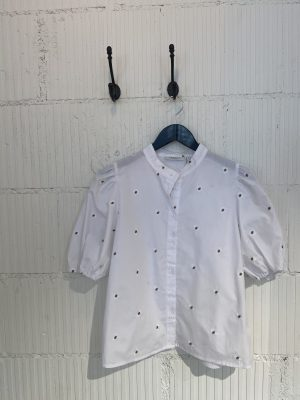 Nona 2/4 blouse Moss Copenhagen